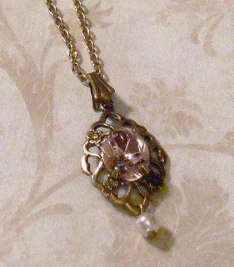 Titanic Jewelry Rose's Deck Strolling Necklace by titanicjewelry, $20.00