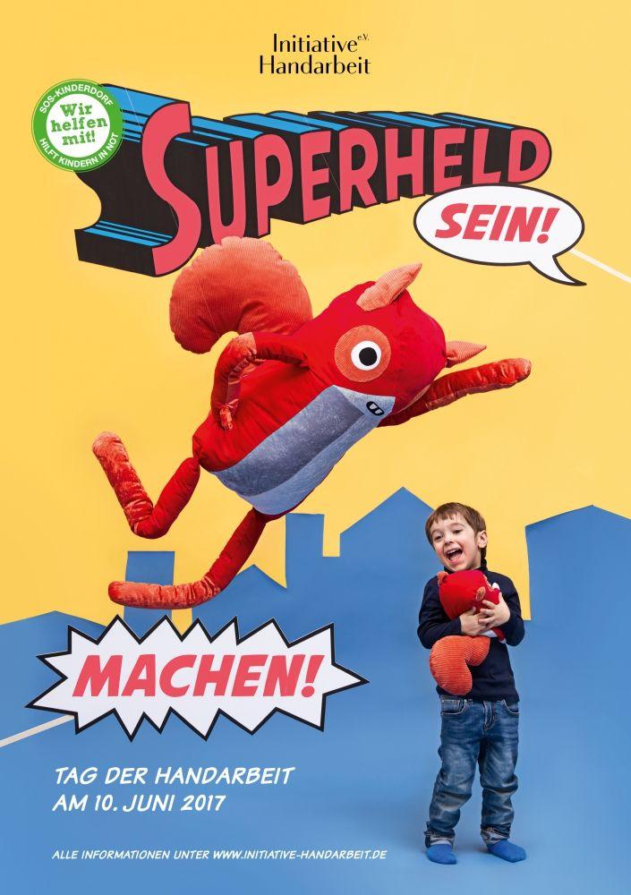 Initiative Handarbeit 2017 - Superheld