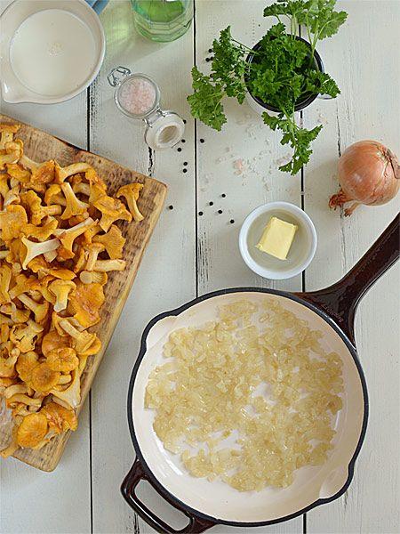 Kurki w śmietanie (a także uniwersalny sos) - lepszego przepisu nie znajdziesz nigdzie indziej - etap 2