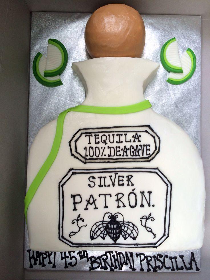 Patron Tequila Cake