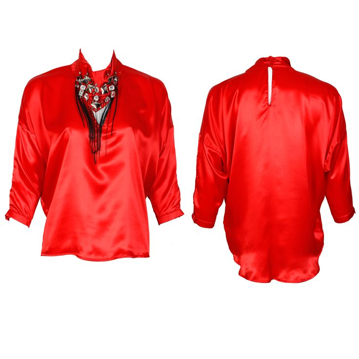 #whoswho #greenbird #marinamall #abudhabi #abudhabifashion #abudhabistyle #dubai #dubaifashion #dubaistyle #fashionista #womenswear #eveningwear #casualwear #fall2013 #winter2014 #blouse #silk #neckornament #collared #redsilk #red
