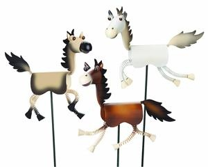 Our adorable happy horse garden stakes will brighten your garden, ...  horseloversgifts.com