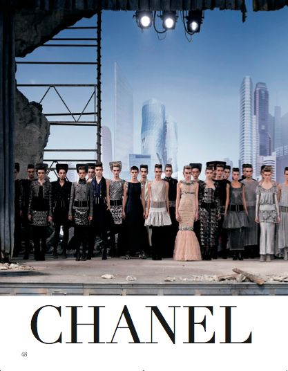 Focus on Chanel in Paris chapter. #Chanel #HauteCouture #catwalks #fashion #woman #style #clothes #dress #look