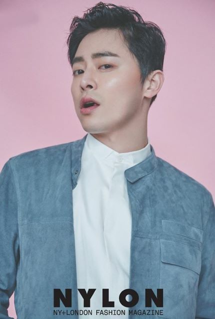 Jo Jung Suk Goes For Boyish Look in Nylon Pictorial