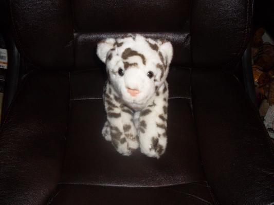 Animal Alley Toys R Us 17 Quot Plush White Black Snow Leopard