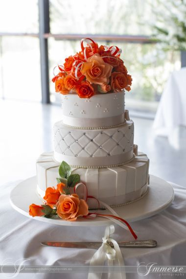 Cake captured by Immerse Photography @ Yarra Ranges Estate