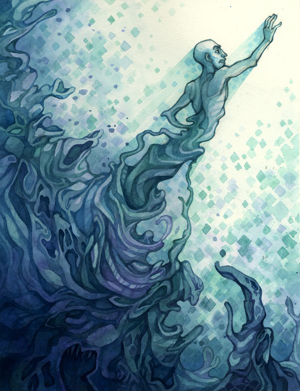 River of the Damned by Jessica Schultz, via Behance