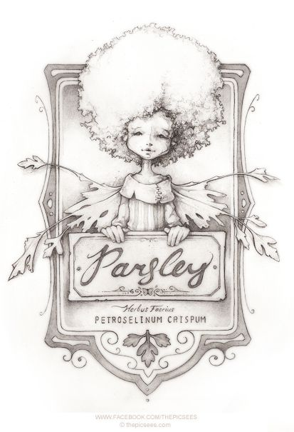 Hanna-Belle the parsley faerie... by thePicSees on DeviantArt
