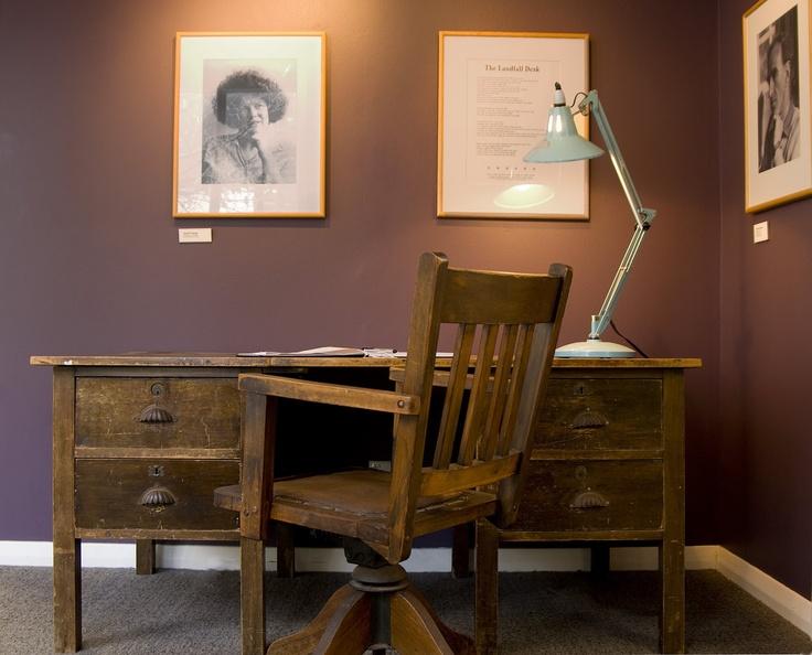 Janet Frame's writing desk (Robert Cross)