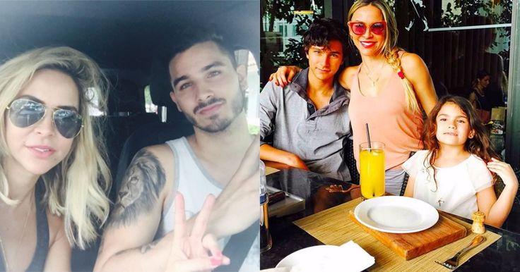 Mira qué grandes y bellos están los hijos de Aylín Mujica #Farándula #actriz #AylínMujica #cubana