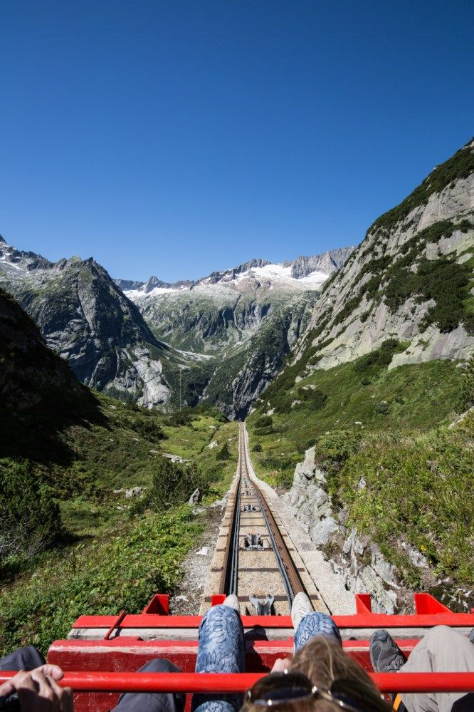 Gelmersee: Randonnée autour du lac avec Gelmerbahn – Conseil de randonnée   – wandern