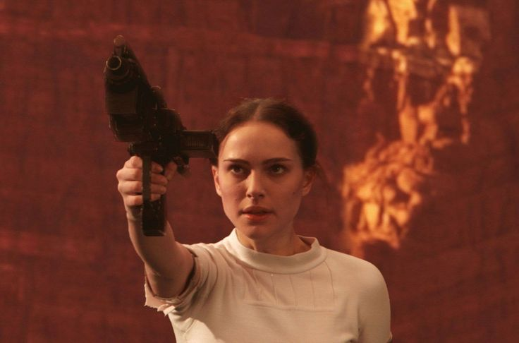 Padmé Skywalker: Like mother, like daughter.