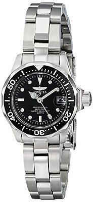 Women Watches On Sale Cheap Silver Invicta Pro Diver Collection for Women's 8939