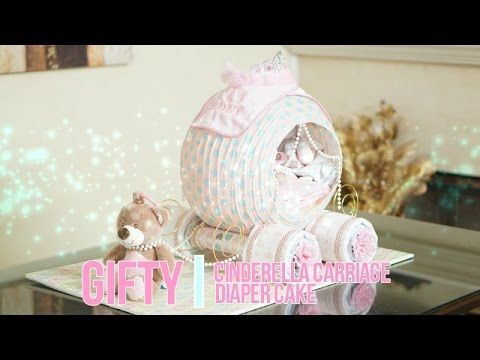 How to make a diaper baby - Sleeping Baby Boy (Diaper Cake) - YouTube