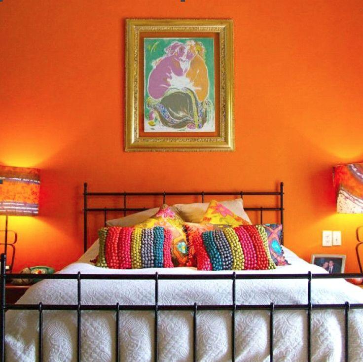 Die besten 25+ Mexikanisches schlafzimmer Ideen auf Pinterest - schlafzimmer orange
