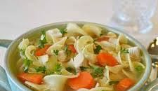 Farmhouse Chicken Noodle Soup – Cooking from Books