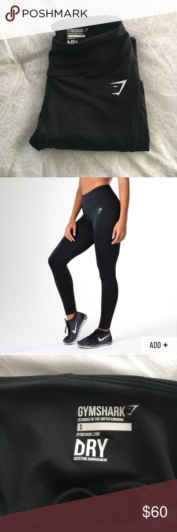 Gym shark leggings NWOT. Never worn. Size small gym shark Pants