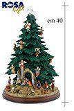 Albero di Natale gi addobbato a 360 con presepe- http://www.siboom.it/albero-natale-gia-addobbato-360-presepe_offerte.html |