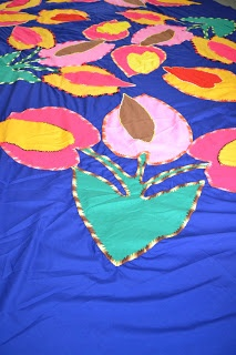 Traditional Cook Island Tivaevae handcraft embroidary