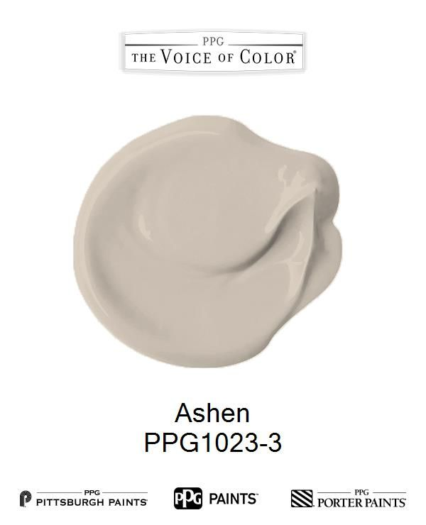 Ashen is a part of the Yellows collection by PPG Voice of Color®. Browse this paint color and more collections for more paint color inspiration. Get this paint color tinted in PPG PITTSBURGH PAINTS®, PPG PORTER PAINTS® & or PPG PAINTS™ products.