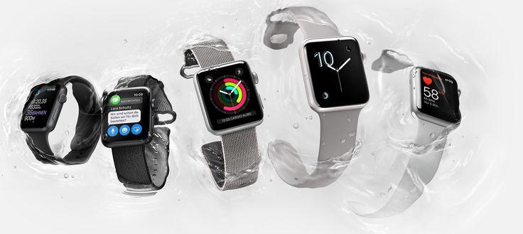 Apple Watch Series 2: Neuer Werbespot online - https://apfeleimer.de/2016/12/apple-watch-series-2-neuer-werbespot-online - In den vergangenen Tagen hat Apple gleich mehrere neue Werbespots veröffentlicht, die sich auf die Apple Watch Series 2 bezogen haben. Dies waren allesamt sehr kurze Spots von rund zehn Sekunden, die einzelne Features in den Vordergrund gestellt haben. Apple Watch Series 2: Weiterer Werbespot ...