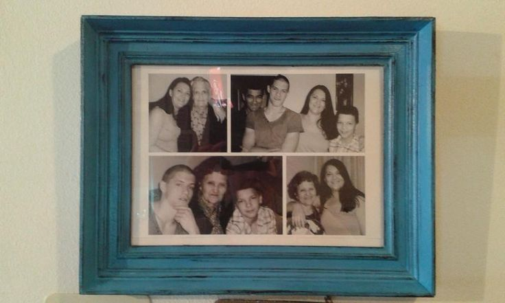 My family in my new frame