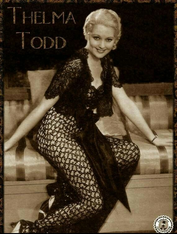 Thelma Alice Todd (July 29, 1906 – December 16, 1935) was ...