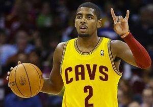 バスケ少年の憧れ。NBA カイリー・アービング選手。