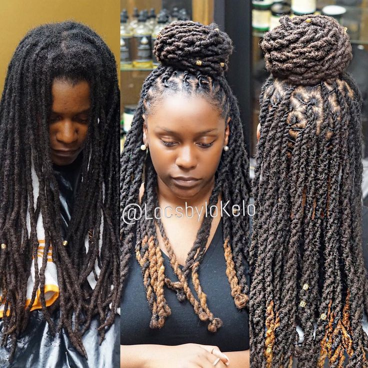 dreadlock styles for long hair 47 best images about loc d out styles on black 2282 | 4c5444760465cefbdf53356e14fd416d