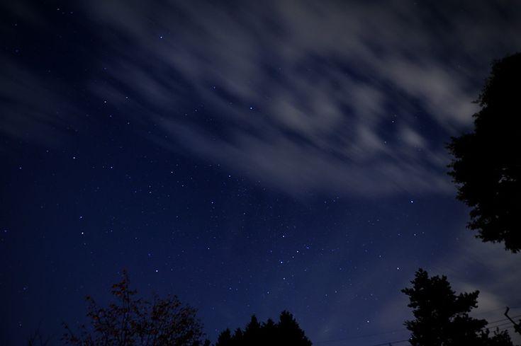 カシオペア座とアンドロメダ銀河