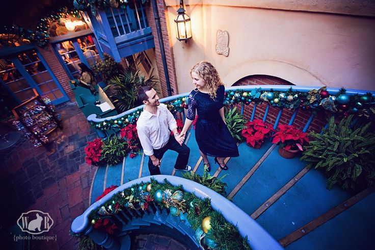 Choosing a location for your Disneyland Engagement Photos | White Rabbit Photo Boutique