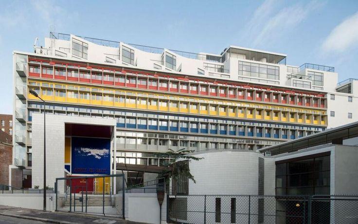 Paris : la Cité de Refuge de Le Corbusier a retrouvé son éclat - Le Parisien