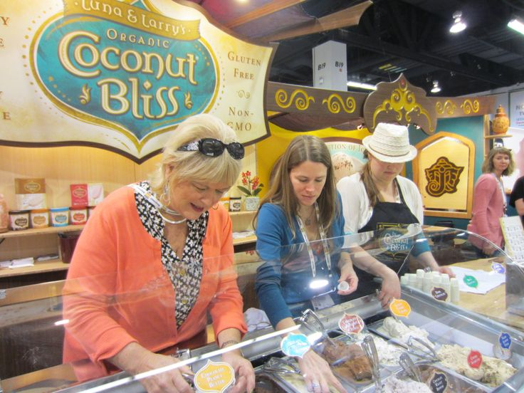Coconut Bliss ice cream is delicious! Natural Products Expo West