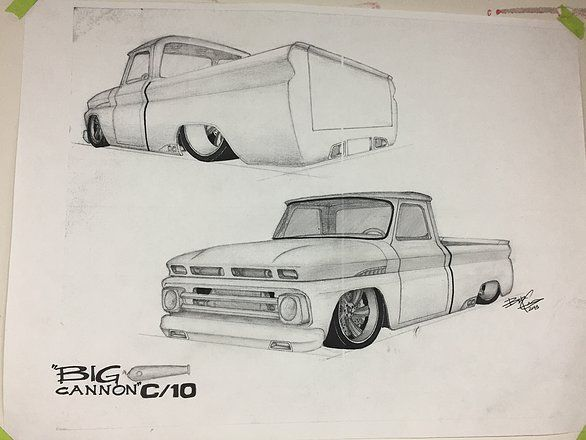 ARH Designs: Lake Norman's Hot Rod and Custom Car Shop - '66 Chevrolet