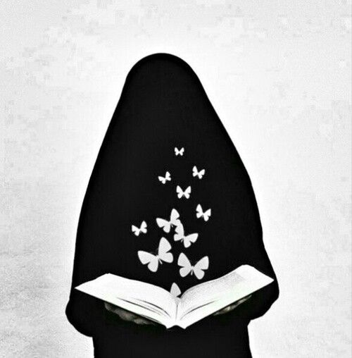 love niqab.. love book..^^