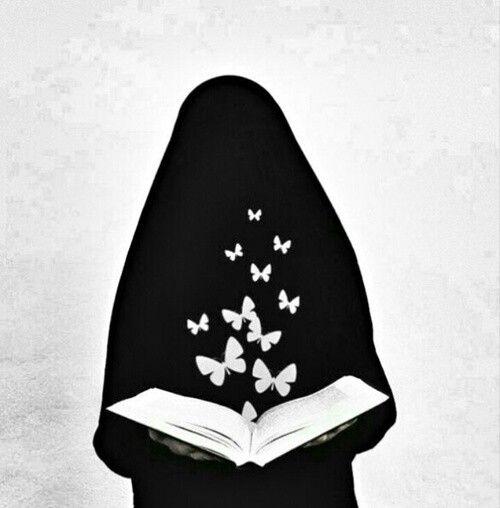 love niqab.. love book..^^