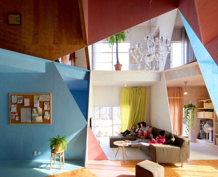 Galeria - Arte e Arquitetura: Apartament House, uma colorida e geométrica forma de restaurar uma casa - 4