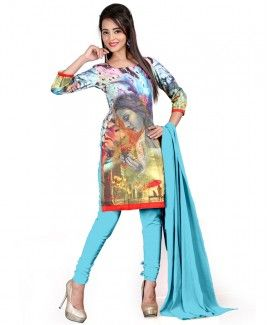 Fabzones Amazing Blue Color Designer Salwar Suit