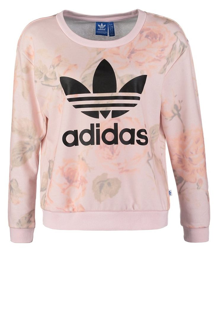 adidas Originals PASTEL ROSE - Sweatshirt - multco - ZALANDO.FR