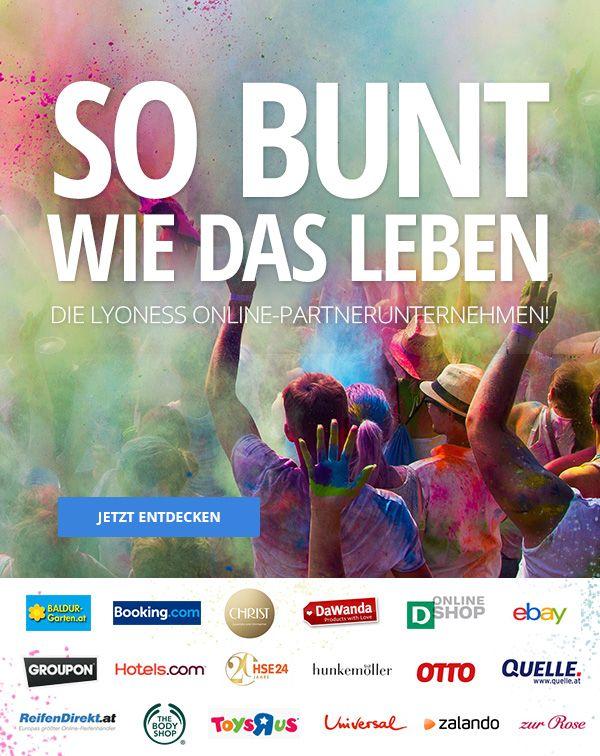 Bunt, bunter, Online Shopping! Cashback & Shopping Points beim Einkaufen mit Lyoness (www.lyoness.com)