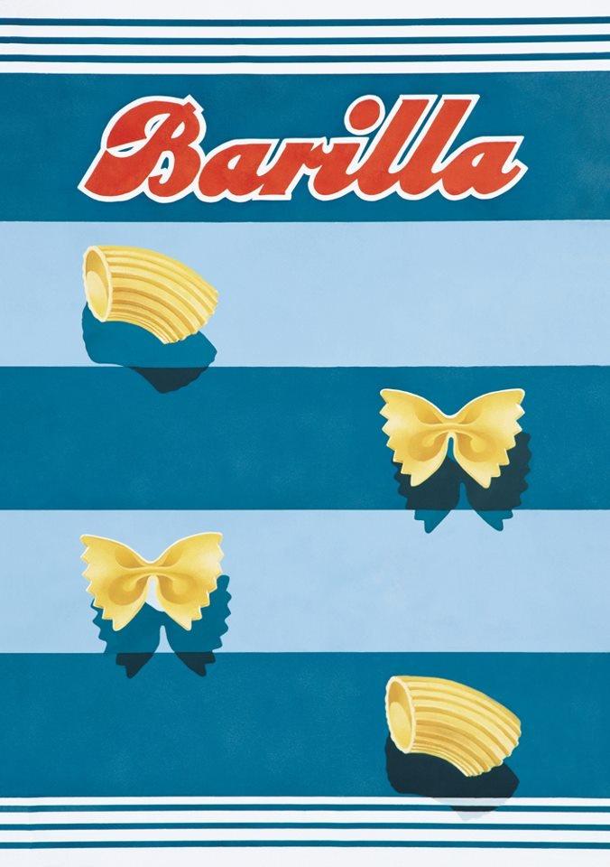 Vintage Italian Posters ~ #illustrator  #Italian #vintage #posters ~ Barilla, 1938