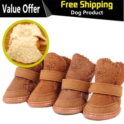 New Arrival Hot Sale 4pcs/Set Pet Dog Cotton Warm Shoes Free Shipping-in Clothing & Shoes from Home & Garden on Aliexpress.com   Alibaba Group