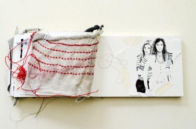 Sketchbook 2011 - Daphne van den Heuvel - Journal art - Collage