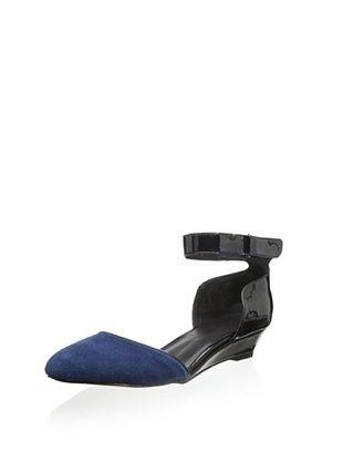 50% OFF Kelsi Dagger Women's Brynn Demi-Wedge (Ocean Blue/Black)