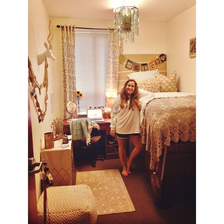 Dorm room! #dorm #uncc   college   Pinterest   Dorm, Dorm ...