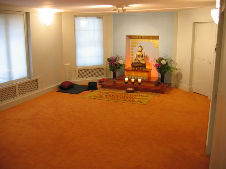 Buddhist Meditation Room - Home Design