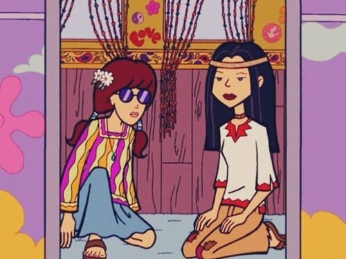 Daria, hippie, and mtv image