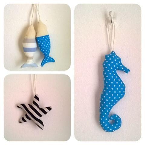 Ecco i soggetti marini disponibili: stella marina, cavalluccio marino e pesciolino.. Disponibile in altre fantasie 😍 #buongiorno…