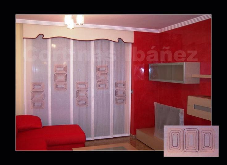 Paneles japoneses cortos decoracin para dormitorios - Paneles japoneses cortos ...