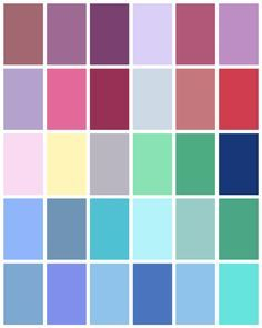 Summer Color Palette - www.tealinspiration.com
